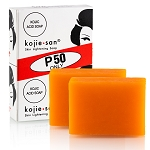 300 Packs of Kojie San Skin Lightening Kojic Acid Soap 2 Bars - 65g (600 Bars Total)